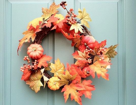 Hogyan készíts őszi ajtódíszt_231580